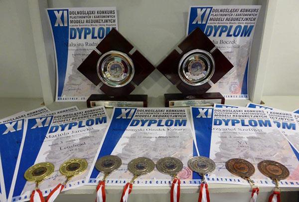 Medale z Bogatyni